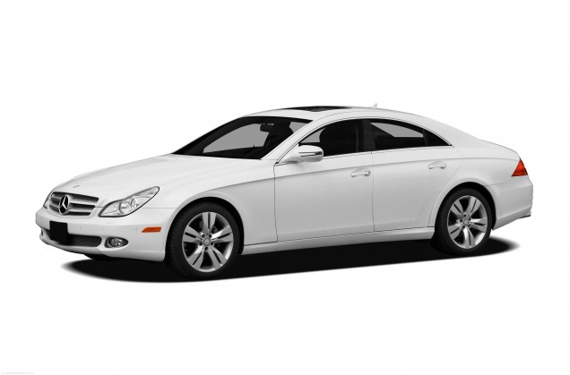 2010-Mercedes-Benz-CLS-Class-Sedan-Base-CLS550-4dr-Coupe-Exterior-Front-Side-View